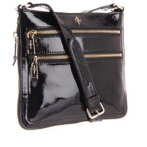 Cole Haan Jitney Sheila ptnt leather crossbody bag